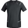 GORE RUNNING WEAR Mythos 6.0 Hardloopshirt korte mouwen Heren grijs/zwart